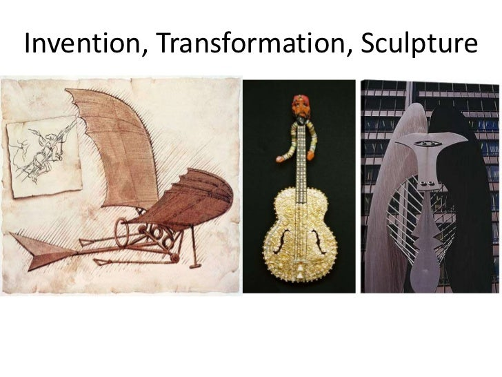 Invention, Transformation, Sculpture