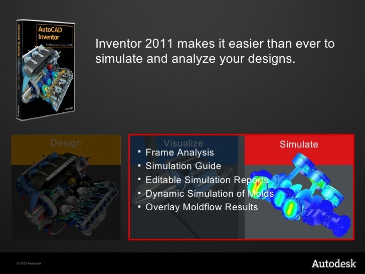 Whats New in Autodesk Inventor 2011