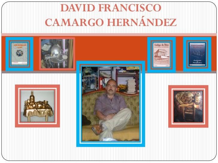 DAVID FRANCISCOCAMARGO HERNÁNDEZ
