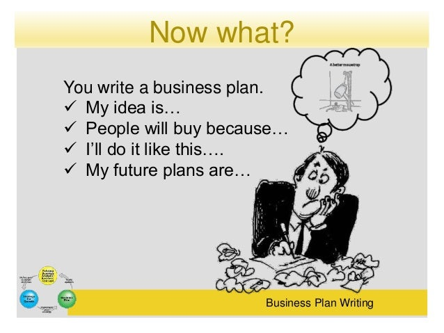 Who can write my business plan