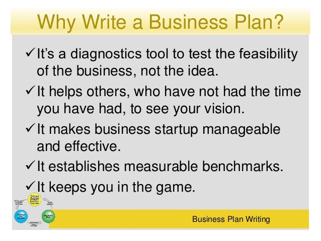 10 Reasons Why You Should Write A Business Plan - Small ...