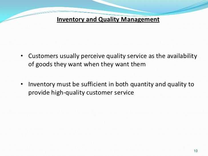 production forecasting inventory management and quality The forecast is used by the production team to develop production or purchase order triggers, quantities and safety stock levels the forecast is not static and should be reviewed by management on a regular basis.