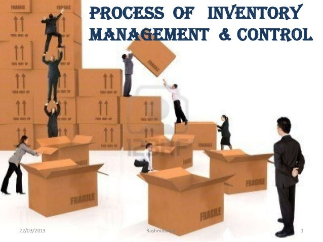 Process of inventory management & control  22/03/2013  Rashmiranjan  1