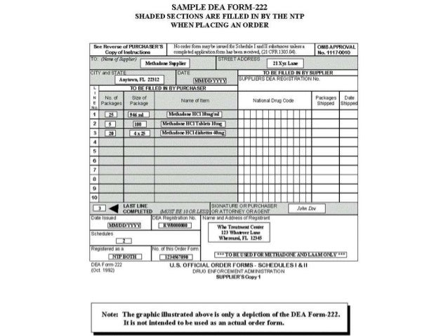 inventory-5-638 Example Of Filled In Dea Form on