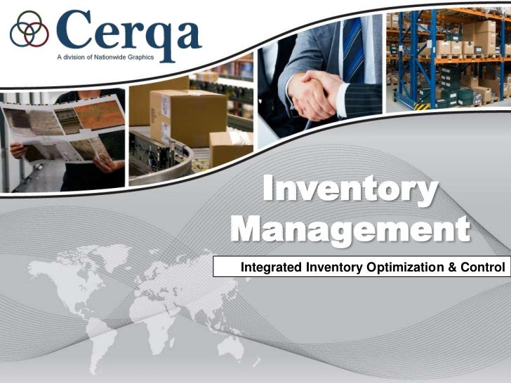 Inventory Management<br />Integrated Inventory Optimization & Control<br />