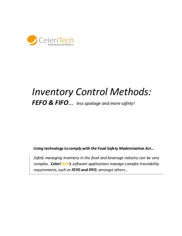 6 Most Important Techniques of Inventory Control System