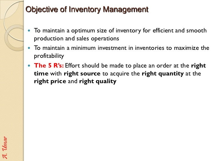 Inventory Control Resume Sample Two