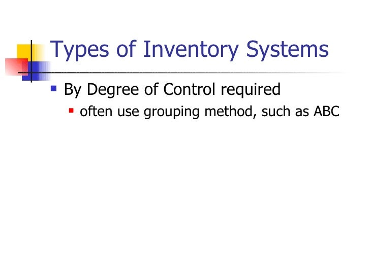 compare and contrast inventory management periodic review systems Forecasting methods for companies essay  the following paper will compare and contrast various forecasting  as the director of operations for b&w systems,.