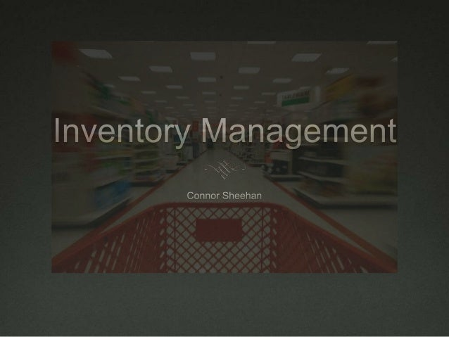Overview 1. Social/Ethical Issue 2. Background 3. History 4. Do Inventory Systems Really Work?