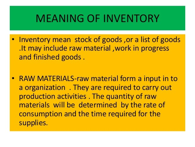 significance of inventory control system The importance of proper inventory management can't be emphasized enough these days a good inventory system will provide high visibility of all items right down to the shelf and bin in multiple locations, if necessary.