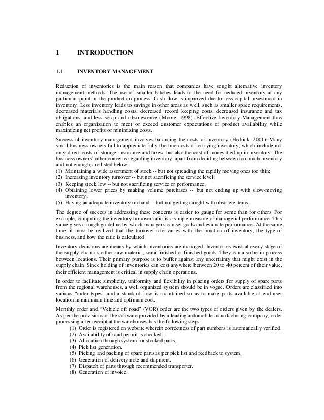 Automobile Dealer Inventory Management Slide 2