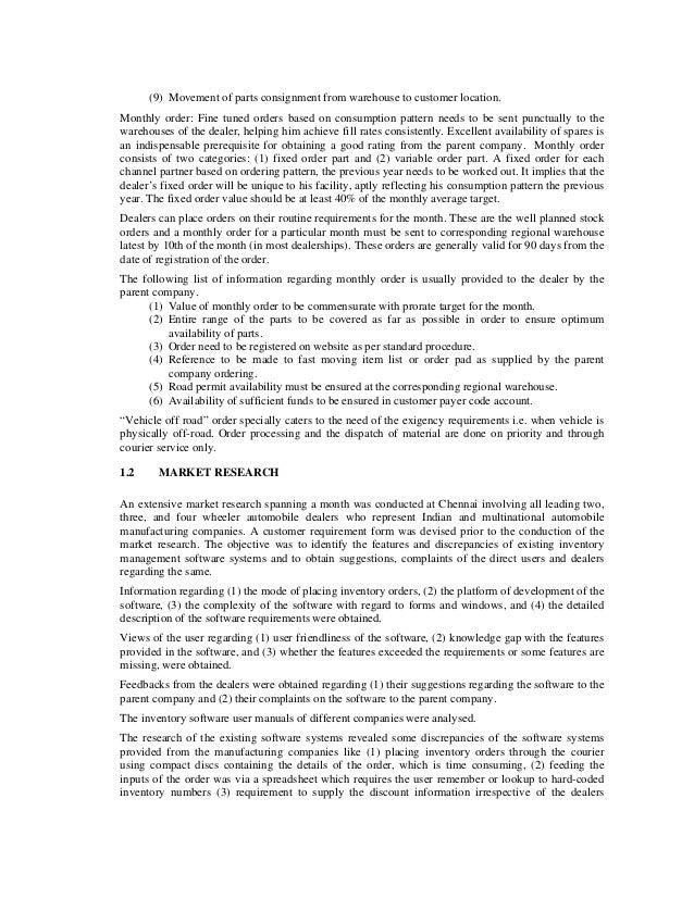 Automobile Dealer Inventory Management Slide 3