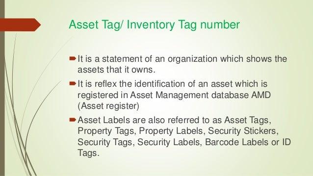 Inventory training
