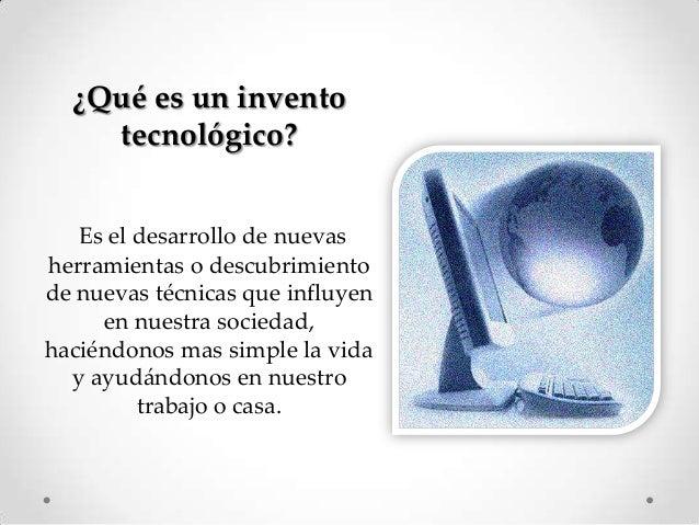 que es inventos