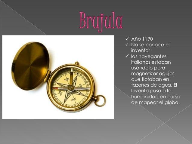 inventos italianos