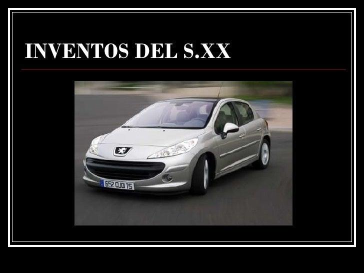 INVENTOS DEL S.XX