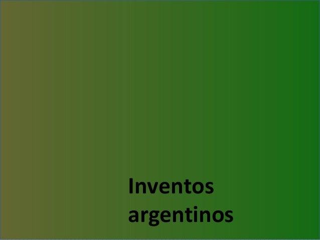 Inventosargentinos