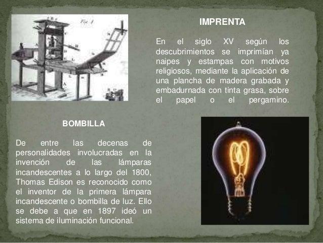 invenciones del siglo xi