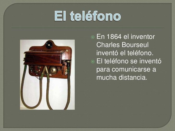 Inventos del siglo xix for De donde es el telefono