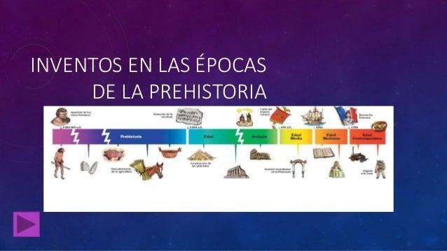 inventos de la prehistoria