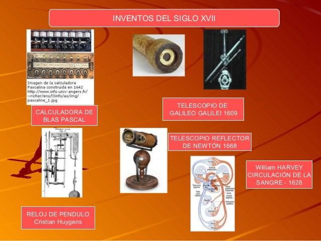 a2c1c1e3595 Inventos siglo xvii