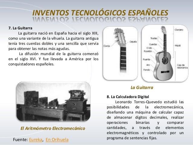 inventos tecnologicos espanoles