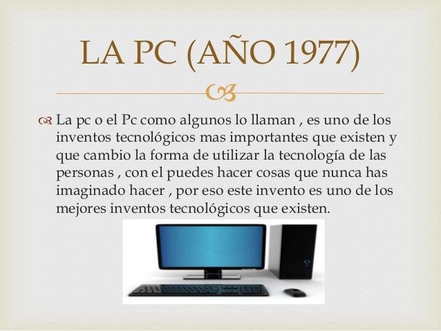 inventos tecnologicos que cambiaron la humanidad