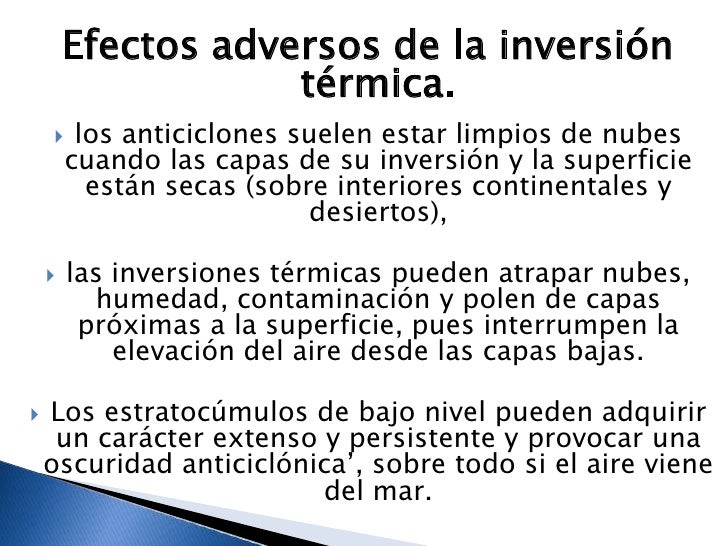 Inversión termica