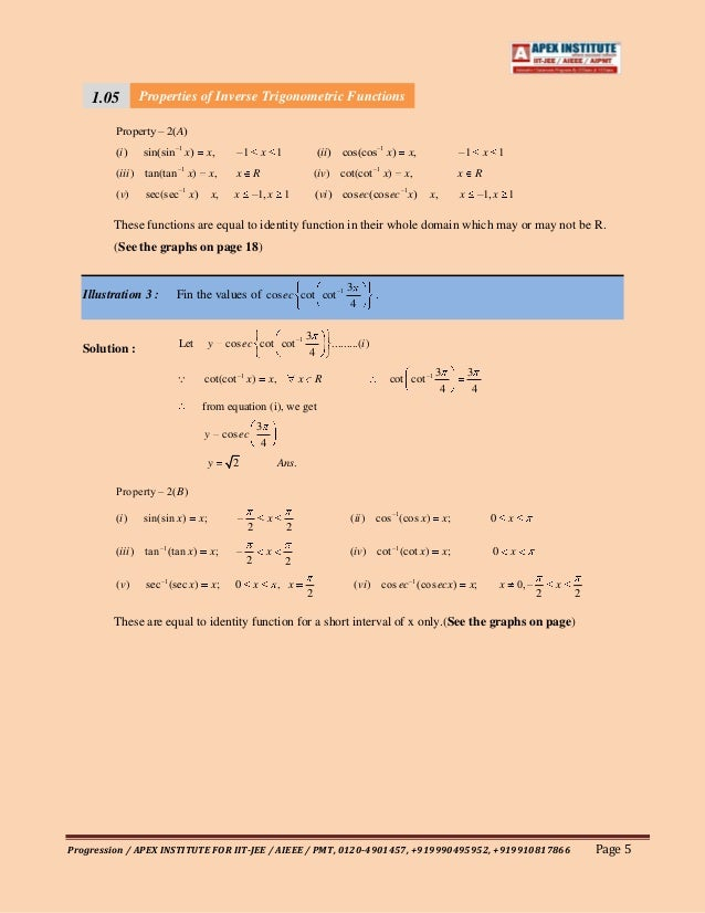 5 1 inverse functions Answers to questions on finding inverse functions answers to questions in find inverse functions - questions are presented question 1: find the inverse of the linear function f.