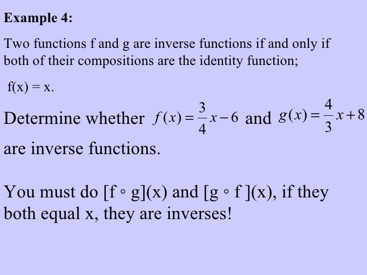 composition and inverse f x 2x 5 Learn how to verify whether two functions are inverses by composing them for example, are f(x)=5x-7 and g(x)=x/5+7 inverse functions.