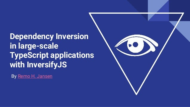 Dependency Inversion in large-scale TypeScript applications