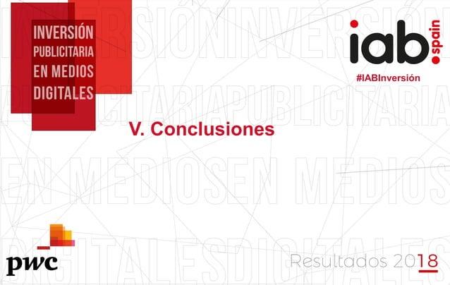 #IABInversión #IABInversión V. Conclusiones