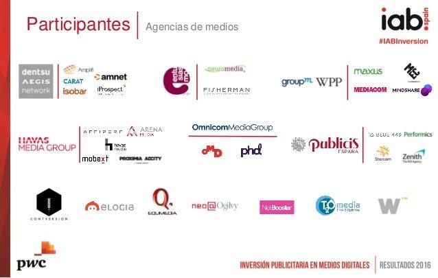 Participantes Agencias de medios