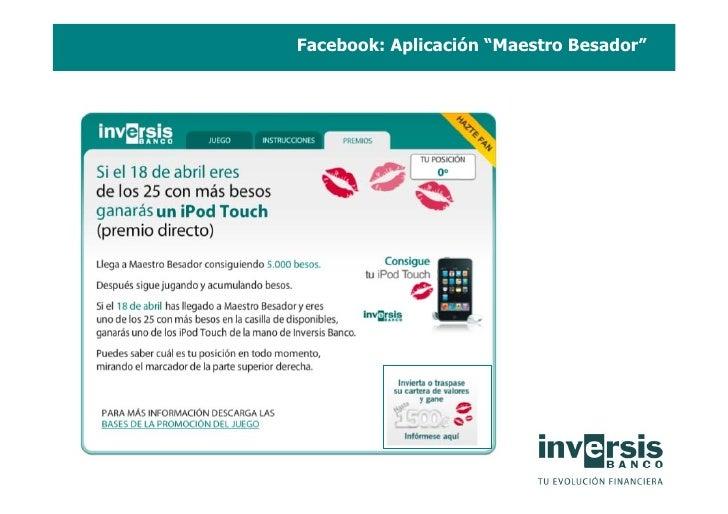 """Facebook: Aplicación """"Maestro Besador"""""""