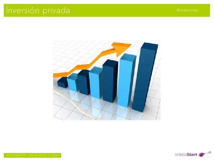 Inversión privada                                   #inversores                                               Jordi Puig...