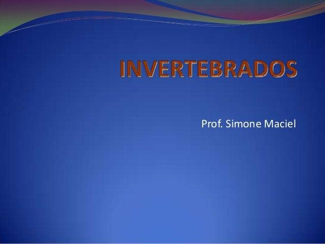 Prof. Simone Maciel
