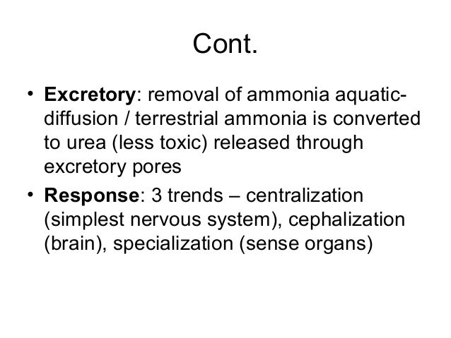 ammonia excretion as a function of body size in crayfish Gills can also be used in excretion of nitrogenous wastes (in the form of ammonia) and regulation of salts in the body  any increase in overall body size leads to.