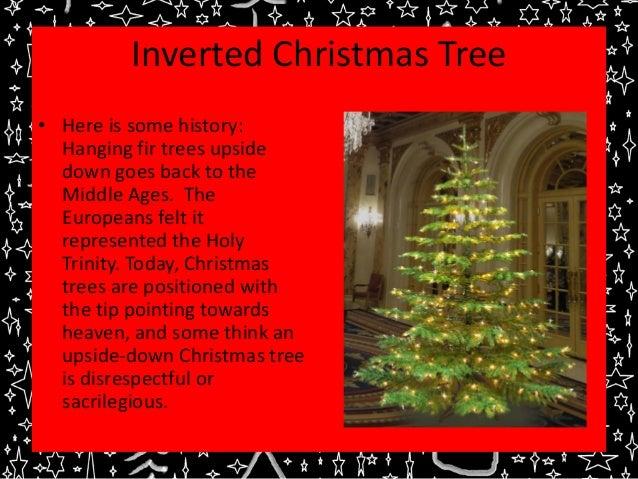 Inverted Christmas Tree Fun