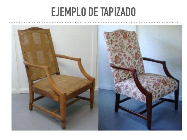 Investigacion tapizados de muebles for Tapizado de muebles