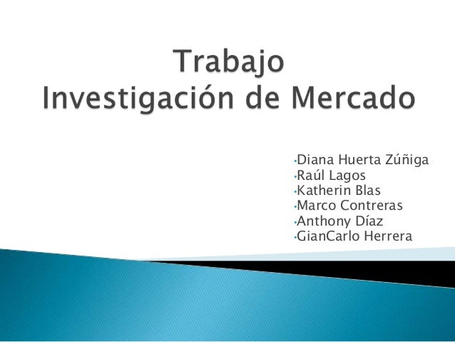 •Diana Huerta Zúñiga•Raúl Lagos•Katherin Blas•Marco Contreras•Anthony Díaz•GianCarlo Herrera