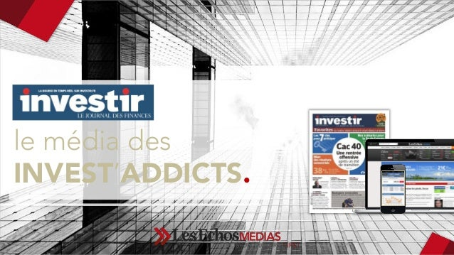 le média des  INVEST'ADDICTS.