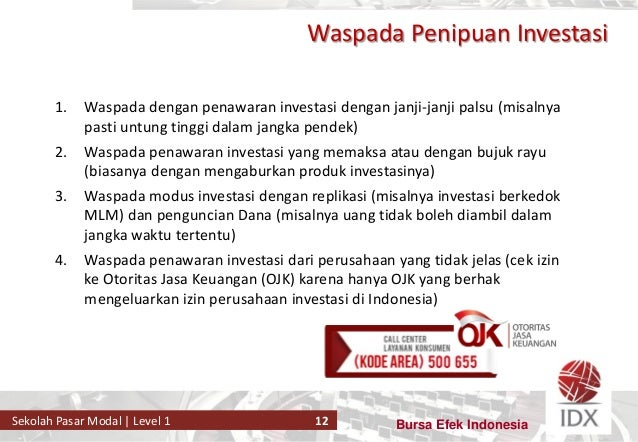 Produk Pasar Modal Pdf Download