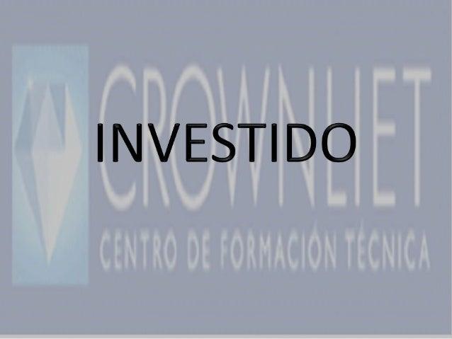 • LABORATORISTA DENTAL L303 AÑO 2013• CFT CROWNLIET• ALUMNO: CARLOS PACHECO• PROFESOR: HUGO PALACIOS