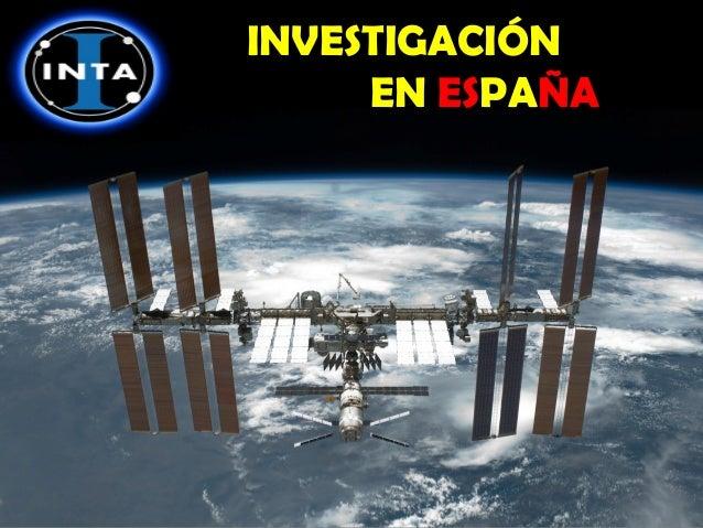 INVESTIGACIÓN EN ESPAÑA