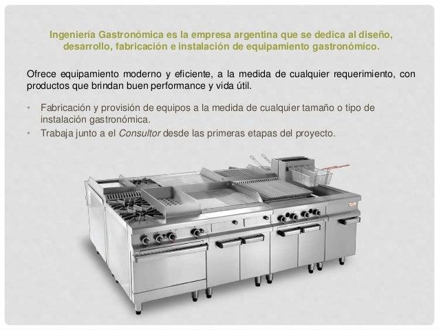 Investigación cocinas industriales