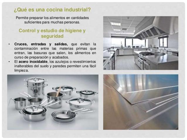 Investigaci n cocinas industriales for Cocina de investigacion