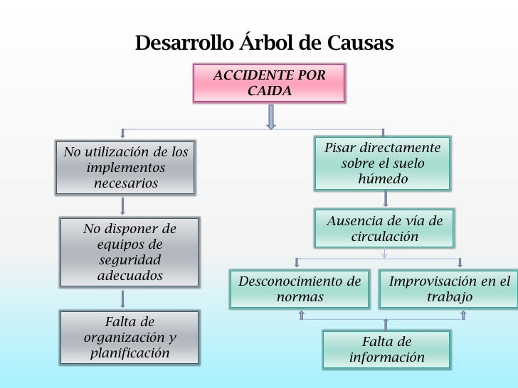 Investigaci n de incidentes y accidentes de trabajo for Investigacion de arboles