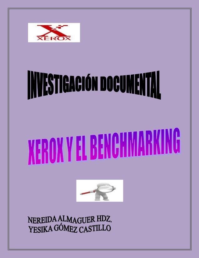 Primeramente se va a definir el benchmarking, además de conocer un poco más de este término: Concepto Benchmarking es un p...