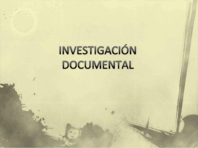  El desarrollo de un proceso de investigación documental da como resultado un producto diferentes tipos de trabajos de in...