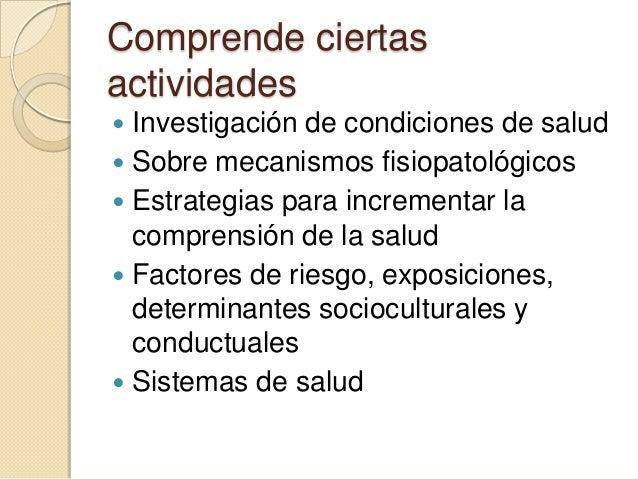 Investigación en el campo de la salud Slide 3